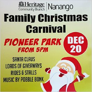 Nanango Christmas Carnival Thursday, December 20 - click here