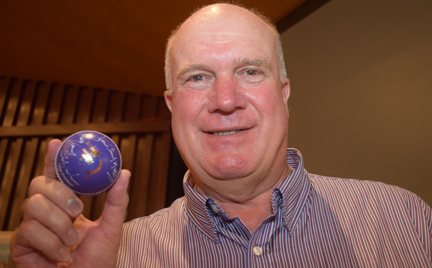 South Burnett Relay For Life patron Carl Rackemann