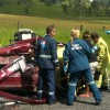 Six Injured In Crash