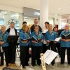 Choir Sings Out In Shoppingworld