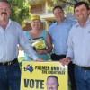 Senator Props PUP Campaign