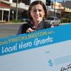 Deb Launches<BR> 'Local Hero Grants'
