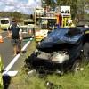 Two Injured In Highway Crash