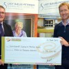 Community Hospital Gets Two Cheques