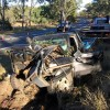 Driver Hurt In 4WD Crash