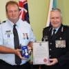 Sergeant Presented With Special Award