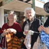 Knitters Love To Stop And Natter