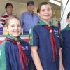 Scouts Lend A Helping Hand
