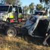 Man Critically Injured In Crash