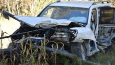4WD Plunges Off Bridge
