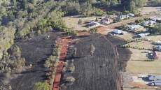 Firies Monitor Kingaroy Blaze