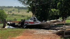 Pilot Airlifted After Crash