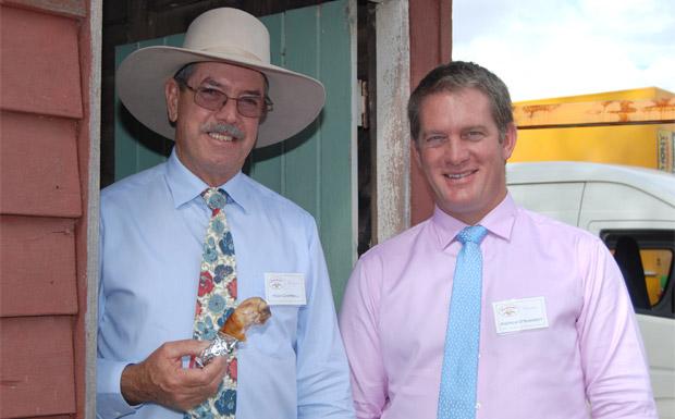 Hugh Campbell and Andrew O'Shanesy
