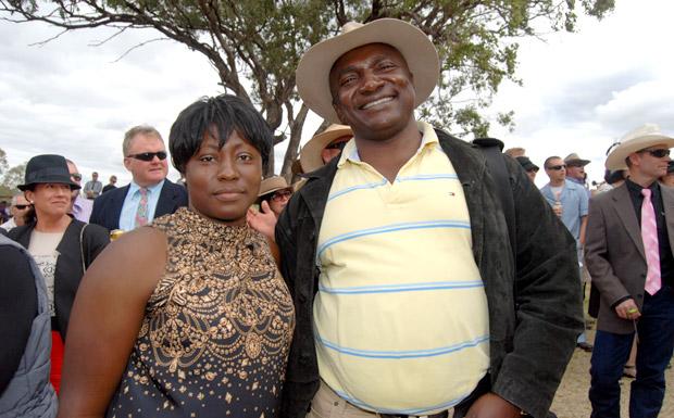 Dr and Mrs Michael Okonkwo