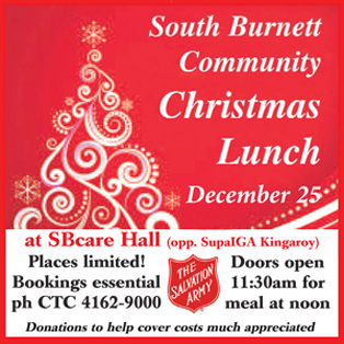 Kingaroy Community Christmas Lunch