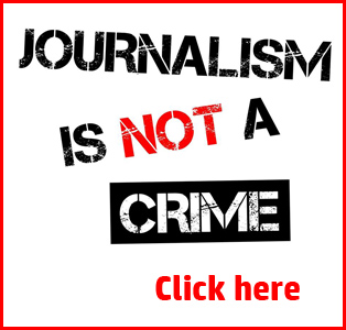 Journalism is NOT a crime - click here