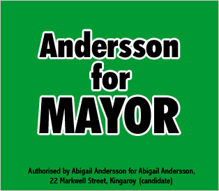 Andersson for Mayor