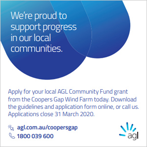 AGL Community Fund - click here