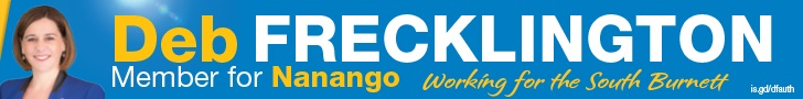 Vote 1 Deb Frecklington For Nanango - click here
