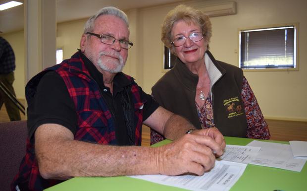 David Hunter and Margaret Westerman