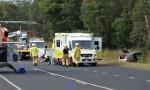 Accident Blocks D'Aguilar Highway