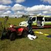 Quad Bike Rider Injured