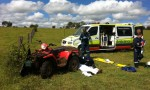 Quad Bike Rider Injured