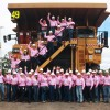 Miners Think Pink For Cancer