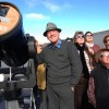 Venus Viewers Gather At Maidenwell
