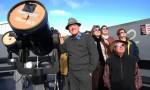 Venus Viewers Gather At Maidenwell