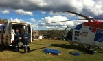 Motocross Rider Airlifted To Hospital
