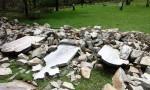 Taromeo Cemetery Escapes Damage
