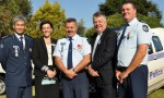 Police Pause To Remember