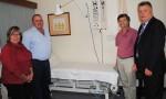 New Bed Arrives At Hospital