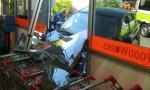 Car Crashes Through Window