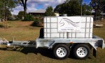 Trailer Relieves Water Pressure