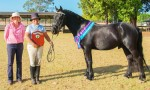 Nicole Wins Dressage Trophy