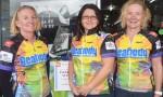 Sponsors Help Josie Pedal On