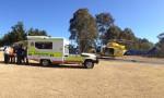 Rally Driver<BR> Injured Near Jimna