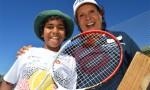 Evonne Shares Her Tennis Dream