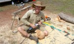 Wood Sculptor Returns To Blackbutt