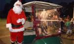 Santa Tees Off At Kumbia