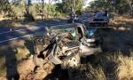 Driver Hurt In 4WD Crash
