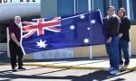 Battle Flag Returns To Kingaroy
