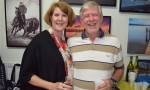 Artists Paint Town Red, Gallery White