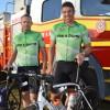 Cyclists Take Well-Earned Break