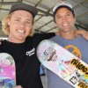 Skaters Roll Into Town With Gifts
