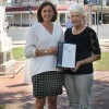 Gloria Thanked For 40 Years
