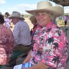 Jockeys And Racegoers In The Pink