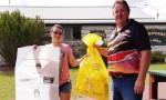Volunteers Help To Clean Up